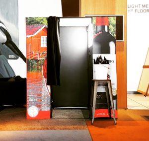 Hyra Photo Booth med branding