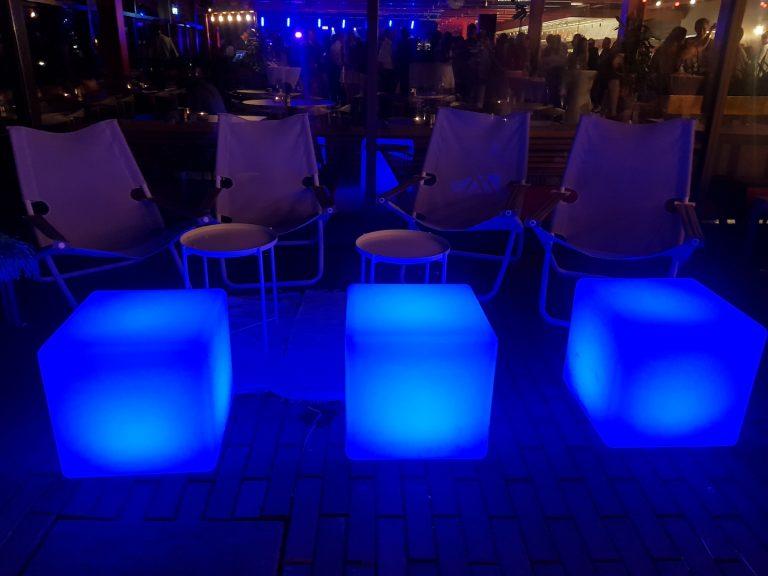 LED kuber pall